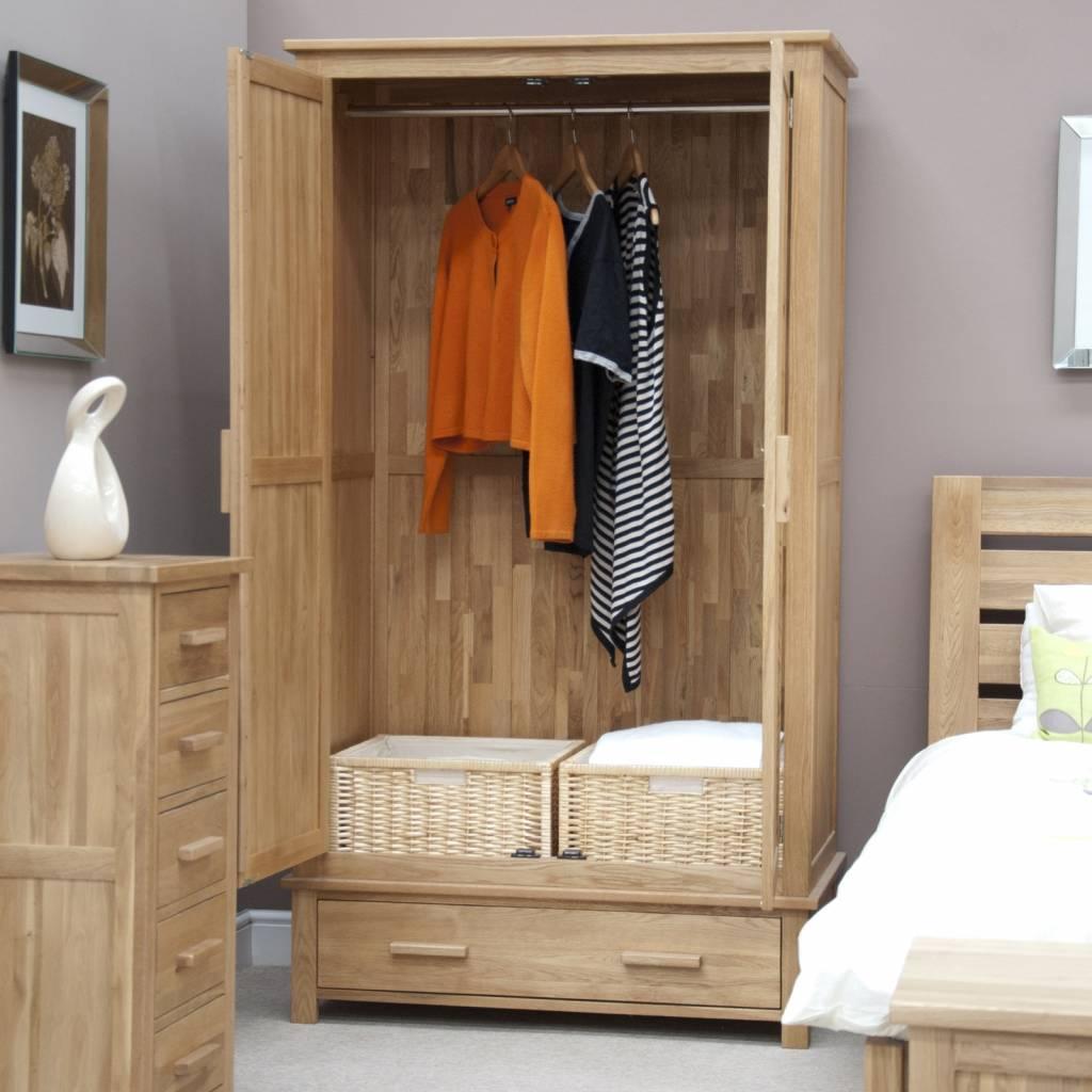 HomestyleGB Opus Oak Gents Wardrobe