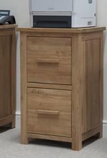 HomestyleGB Opus Oak Filing Cabinet