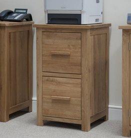 Opus Oak Filing Cabinet