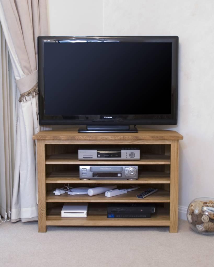 HomestyleGB Opus Oak Corner TV Plasma Unit