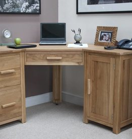 HomestyleGB Opus Oak Corner Desk