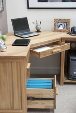 HomestyleGB Opus Oak Corner Desk