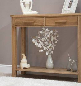 HomestyleGB Opus Oak Console Table
