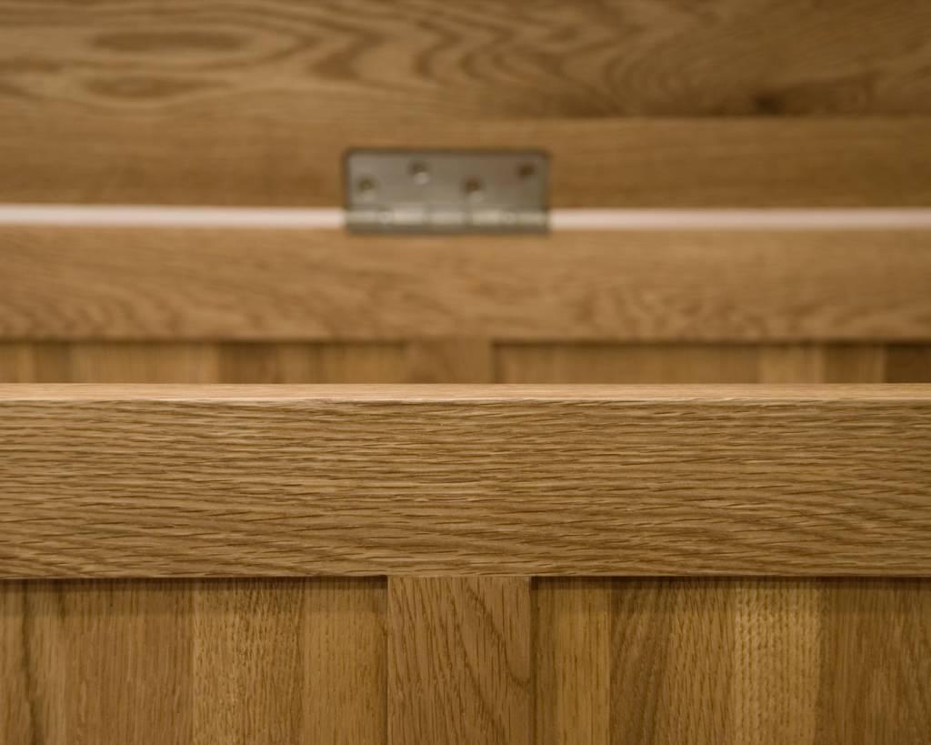 Opus Oak Blanket Box