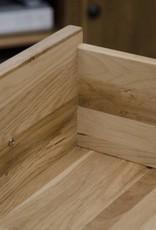 Opus Oak Basket Console Table