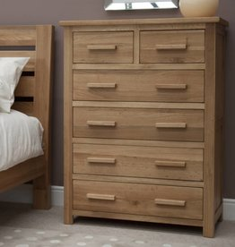 HomestyleGB Opus Oak 2+4 Drawer Chest