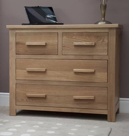 Opus Oak 2 + 2 Drawer Chest