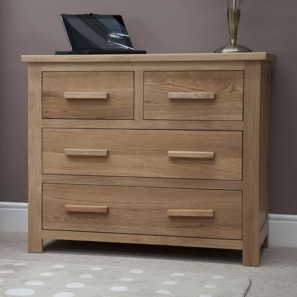 HomestyleGB Opus Oak 2 + 2 Drawer Chest