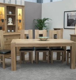 HomestyleGB Trend Oak Large Dining Table