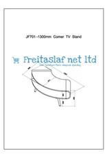 JF701 Faro Corner TV Stand
