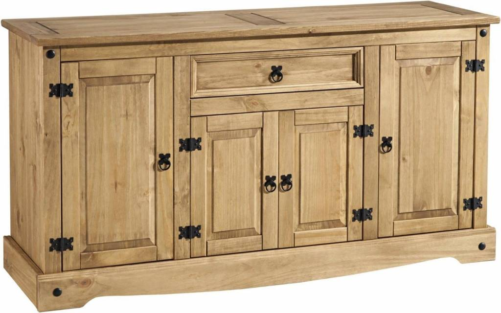 Corona 4 Door 1 Drawer Large Sideboard