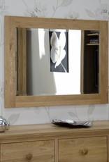 HomestyleGB Opus Oak Wide Wall Mirror