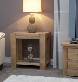 Trend Oak Lamp Table
