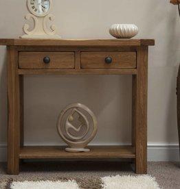 HomestyleGB Rustic Oak Console Table