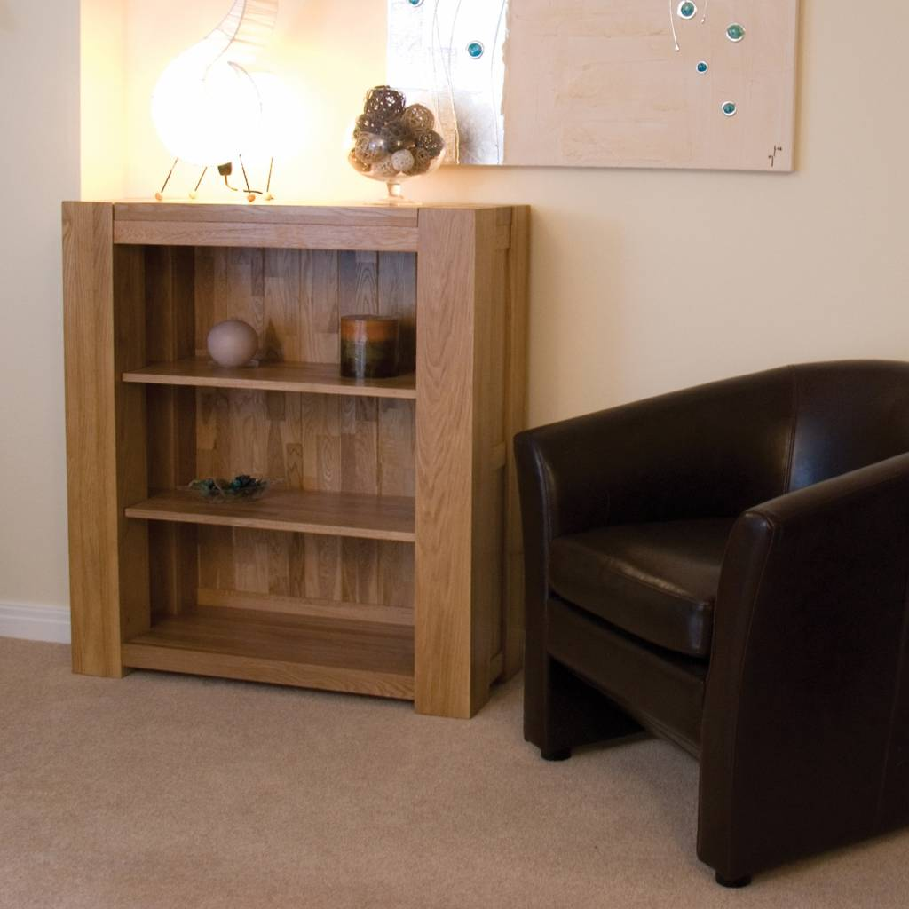 HomestyleGB Trend Oak Small Bookcase