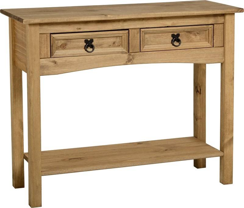 Corona 2 Drawer Console Table