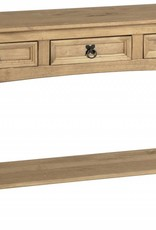 Corona 3 Drawer Console Table