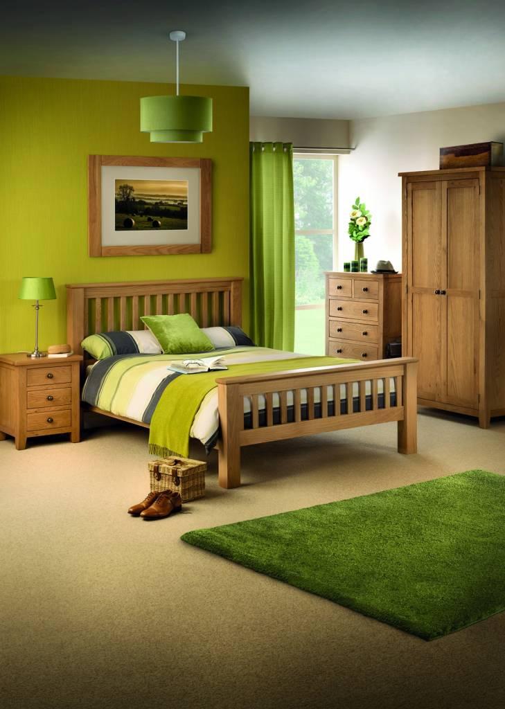 Marlborough Oak Combination Wardrobe