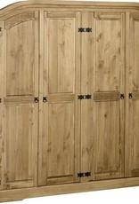 Corona 4 Door Wardrobe