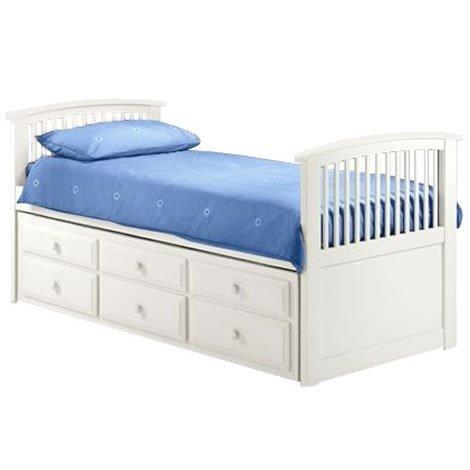 Hornblower Cabin Bed in Pine or White