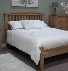 Milano Opus Oak Bed