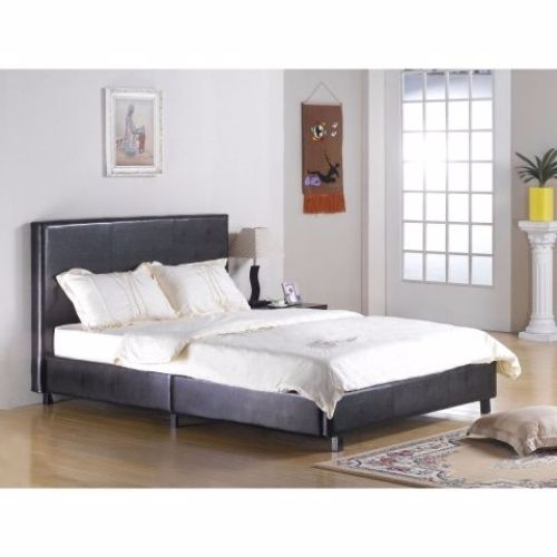 Fusion Faux Leather Bed