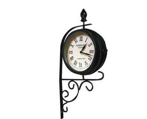 Victorian Station Style Garden Clock