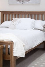 HomestyleGB Rustic Oak Bed