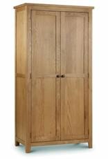 Marlborough Oak 2 Door Wardrobe