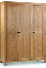Marlborough Oak 3 Door Wardrobe