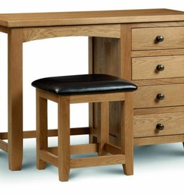 Marlborough Single Pedestal Dressing Table