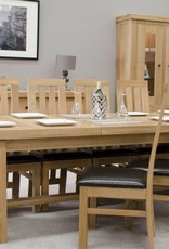 HomestyleGB Bordeaux Solid Oak Grand Dining Table