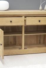 HomestyleGB Bordeaux Solid Oak Small Sideboard