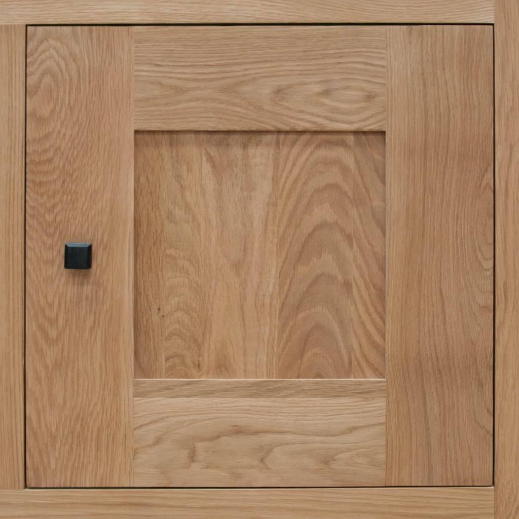 HomestyleGB Bordeaux Solid Oak Medium Sideboard