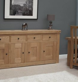 Bordeaux Solid Oak Large Sideboard