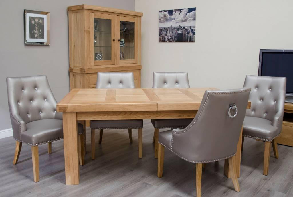 Bordeaux Solid Oak Large Dining Table