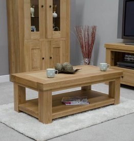 Bordeaux Solid Oak Coffee Table