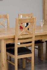 HomestyleGB Deluxe Oak Medium Extending Table
