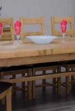 Deluxe Oak X Leg  Extending Table