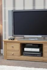HomestyleGB Torino Oak Large Plasma Unit