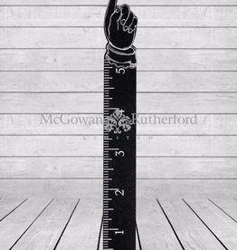 Wooden Pointing Hand Measure Rule (5FT)