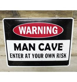 Man Cave - Metal Sign