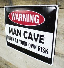Man Cave - Metal Sign