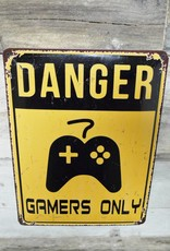 Gamers Only - Metal Sign