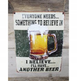 Another Beer - Metal Sign