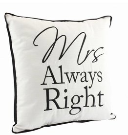 Mrs. Always Right Cushion