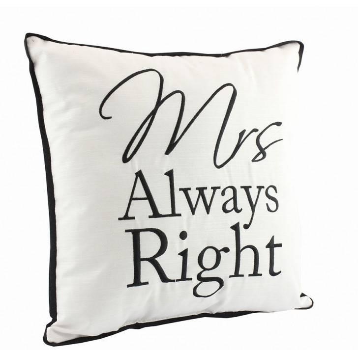 Mrs. Always Right Cushion