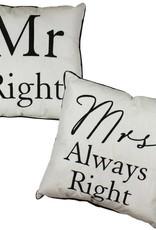 Mr. Right Cushion