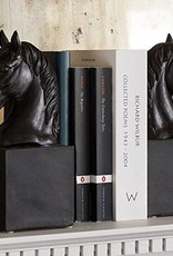 Black Horse Head Bookends