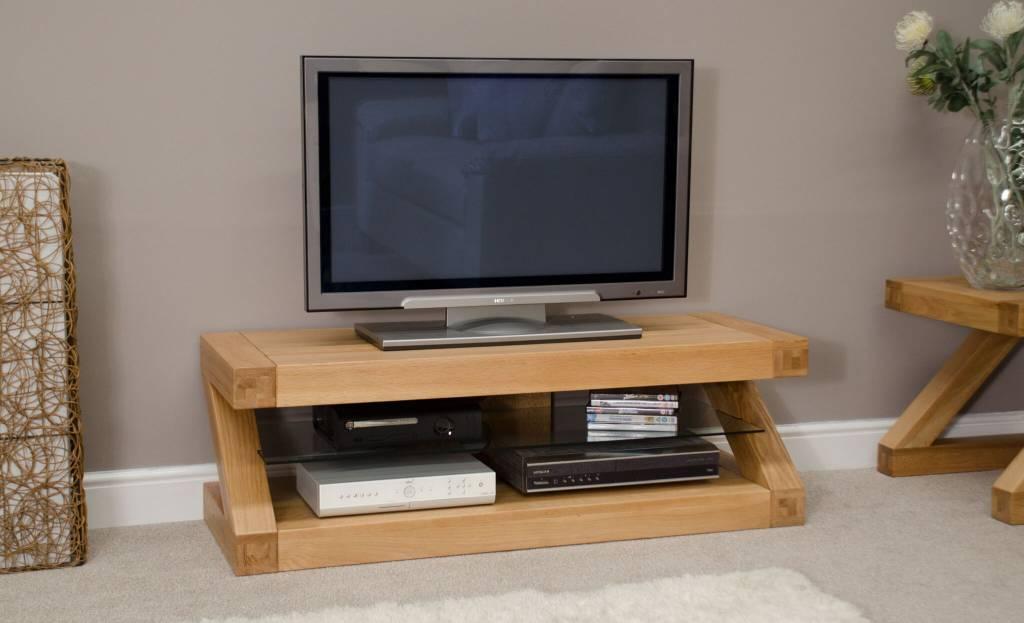 HomestyleGB Z Designer Solid Oak TV Plasma Unit